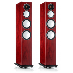 Monitor Audio Silver 8 Floorstanding Speakers Rosenut