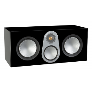 Monitor Audio Silver C350 Centre Speaker Black Gloss