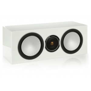 Monitor Audio Silver Centre Speaker-Gloss White