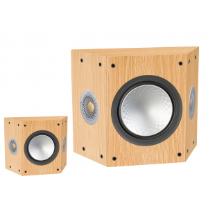 Monitor Audio Silver FX 6G Surround Speakers Natural Oak Pair