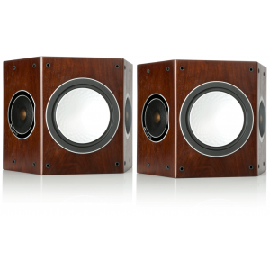 Monitor Audio Silver FX Surround Speakers Walnut