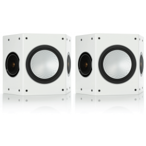 Monitor Audio Silver FX Surround Speakers Gloss White