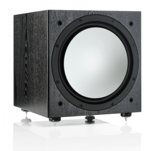 Monitor Audio Silver W12 Subwoofer Black Oak