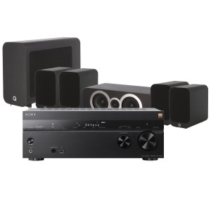Sony STR-DN1080 AV Receiver w/ Q Acoustics 3010i Speaker Package 5.1