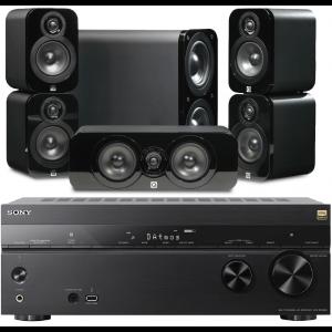 Sony STR-DN1080 AV Receiver w/ Q Acoustics 3000 Speaker Package 5.1