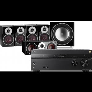 Sony STR-DN1080 AV Receiver w/ Dali Zensor 1 Speaker Package 5.1