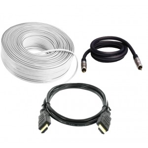 Cable Bundle (1 x HDMI, Speaker, Subwoofer)