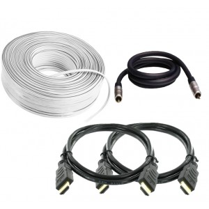 Cable Bundle (2 x HDMI, Speaker, Subwoofer)