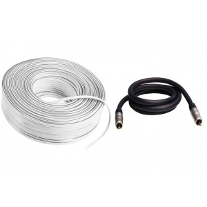 Cable Bundle (Speaker & Subwoofer)