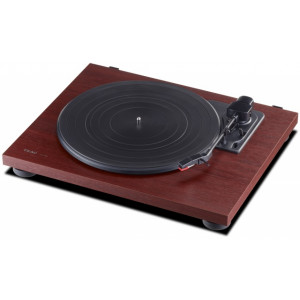 TEAC TN-100 Turntable Cherry