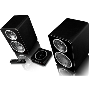 Wharfedale Diamond A1 Active Speakers Black