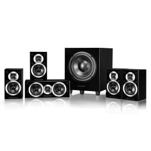 Wharfedale DX-1 SE 5.1 Speaker Package (DX-1SE) Black