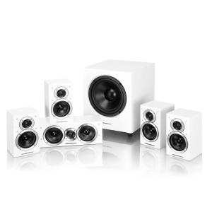 Wharfedale DX-1 SE 5.1 Speaker Package (DX-1SE) White