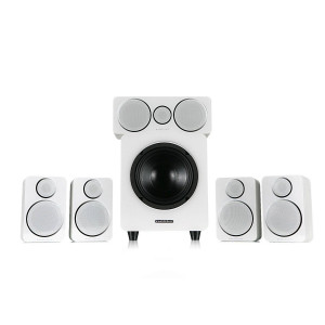 Wharfedale DX-2 5.1 Speaker Package White