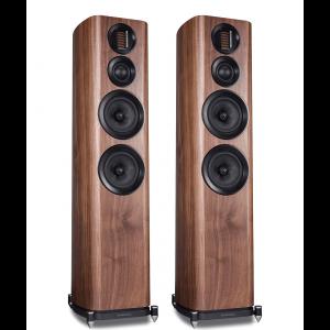 Wharfedale EVO 4.4 Floorstanding Speakers Walnut