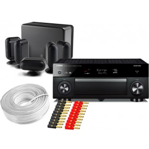 Yamaha RX-A2050 w/ Q Acoustics Q7000i (5.1)