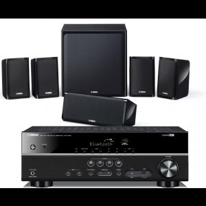Yamaha RX-V383 AV Receiver w/ Yamaha NS-P40 Speaker Package 5.1