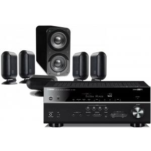 Yamaha RX-V683 AV Receiver w/ Q Acoustics 7000i PLUS Speaker Package 5.1
