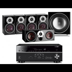 Yamaha RX-V685 AV Receiver w/ Dali Zensor 1 Speaker Package 5.1