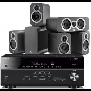 Yamaha RX-V685 AV Receiver w/ Q Acoustics 3010i 5.1 Cinema Pack