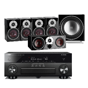 Yamaha RX-A860 AV Receiver w/ Dali Zensor 1 Speaker Package 5.1
