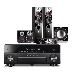 Yamaha RX-A860 AV Receiver w/ Dali Zensor 5 Speaker Package 5.1