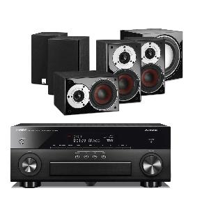 Yamaha RX-A660 AV Receiver w/ Dali Zensor Pico Speaker Package 5.1