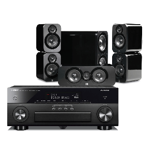 Yamaha RX-A860 AV Receiver w/ Q Acoustics 3000 Speakers (5.1)