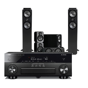 Yamaha RX-A660 AV Receiver w/ Q Acoustics 3050 Speaker Package 5.1