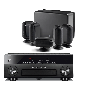 Yamaha RX-A660 AV Receiver w/ Q Acoustics 7000i Speaker Package 5.1