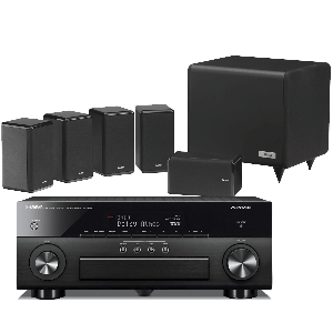 Yamaha RX-A660 AV Receiver w/ Tannoy HTS101 XP Speaker Package 5.1