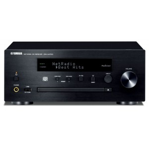 Yamaha CRX-N470D MusicCast CD Receiver - Black