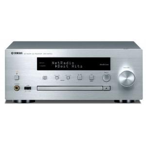 Yamaha CRX-N470D MusicCast CD Receiver - Silver