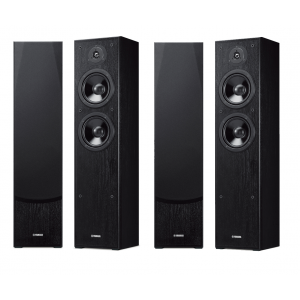 Yamaha NS-F51 Speakers (Two Pairs) (Damaged)