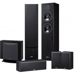 Yamaha NS-F51 Speaker Package (5.1) Black