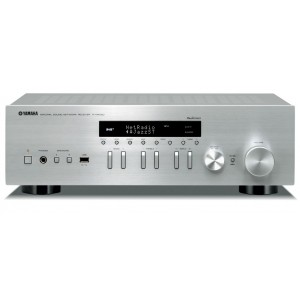 Yamaha R-N402D MusicCast Network Receiver Silver