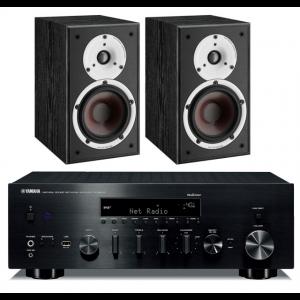 Yamaha R-N803D Network Stereo Receiver w/ Dali Spektor 2 Speakers