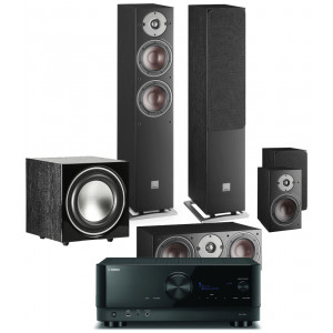Yamaha RX-V6A AV Receiver w/ Dali Oberon 5 Speaker Package (5.1)