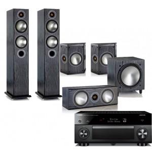Yamaha RX-A3050 w/ Monitor Audio Bronze 5 (5.1)