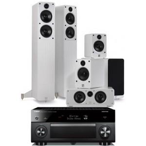 Yamaha RX-A2050 w/  Q Acoustics Concept 40 Speakers (5.1)