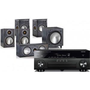 Yamaha RX-A850 w/ Monitor Audio Bronze 1 (5.1)