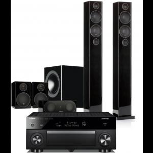 Yamaha RX-A1080 AV Receiver w/ Monitor Audio Radius 270 Speaker Package 5.1