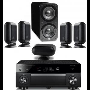Yamaha RX-A1070 AV Receiver w/ Q Acoustics 7000i PLUS Speaker Package 5.1