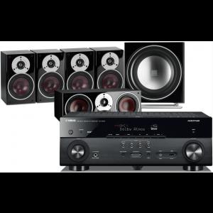 Yamaha RX-A670 AV Receiver w/ Dali Zensor 1 Speaker Package 5.1