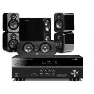 Yamaha RX-V381 AV Receiver w/ Q Acoustics 3000 Speaker Package 5.1