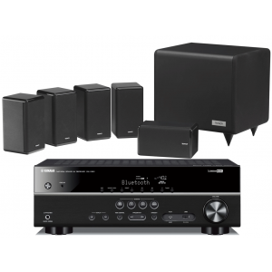 Yamaha RX-V481 AV Receiver w/ Tannoy HTS101XP Speaker Package 5.1