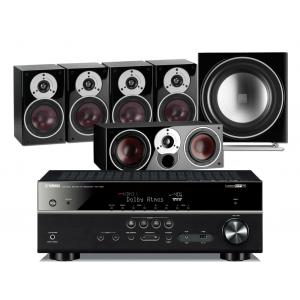 Yamaha RX-V681 AV Receiver w/ Dali Zensor 1 Speaker Package 5.1
