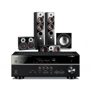 Yamaha RX-V681 AV Receiver w/ Dali Zensor 7 Speaker Package 5.1