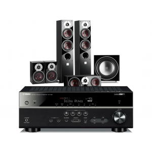 Yamaha RX-V581 AV Receiver w/ Dali Zensor 5 Speaker Package 5.1