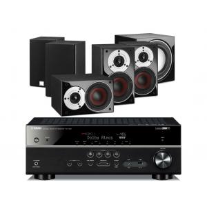 Yamaha RX-V681 AV Receiver w/ Dali Zensor Pico Speaker Package 5.1